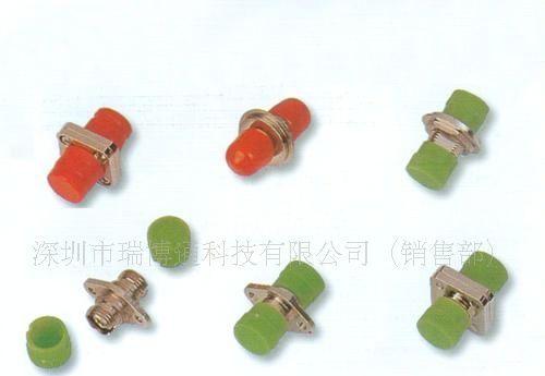 [电信级] FC一体式法兰 光纤适配器 光纤耦合器