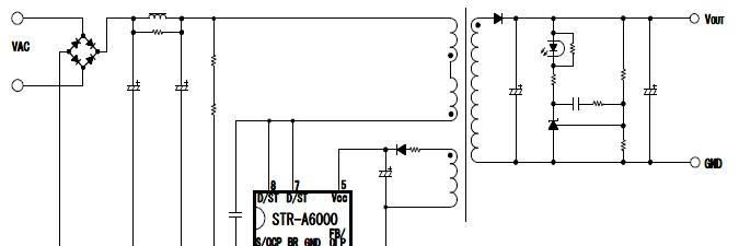 供应a6053m开关电源pwm控制器电源ic