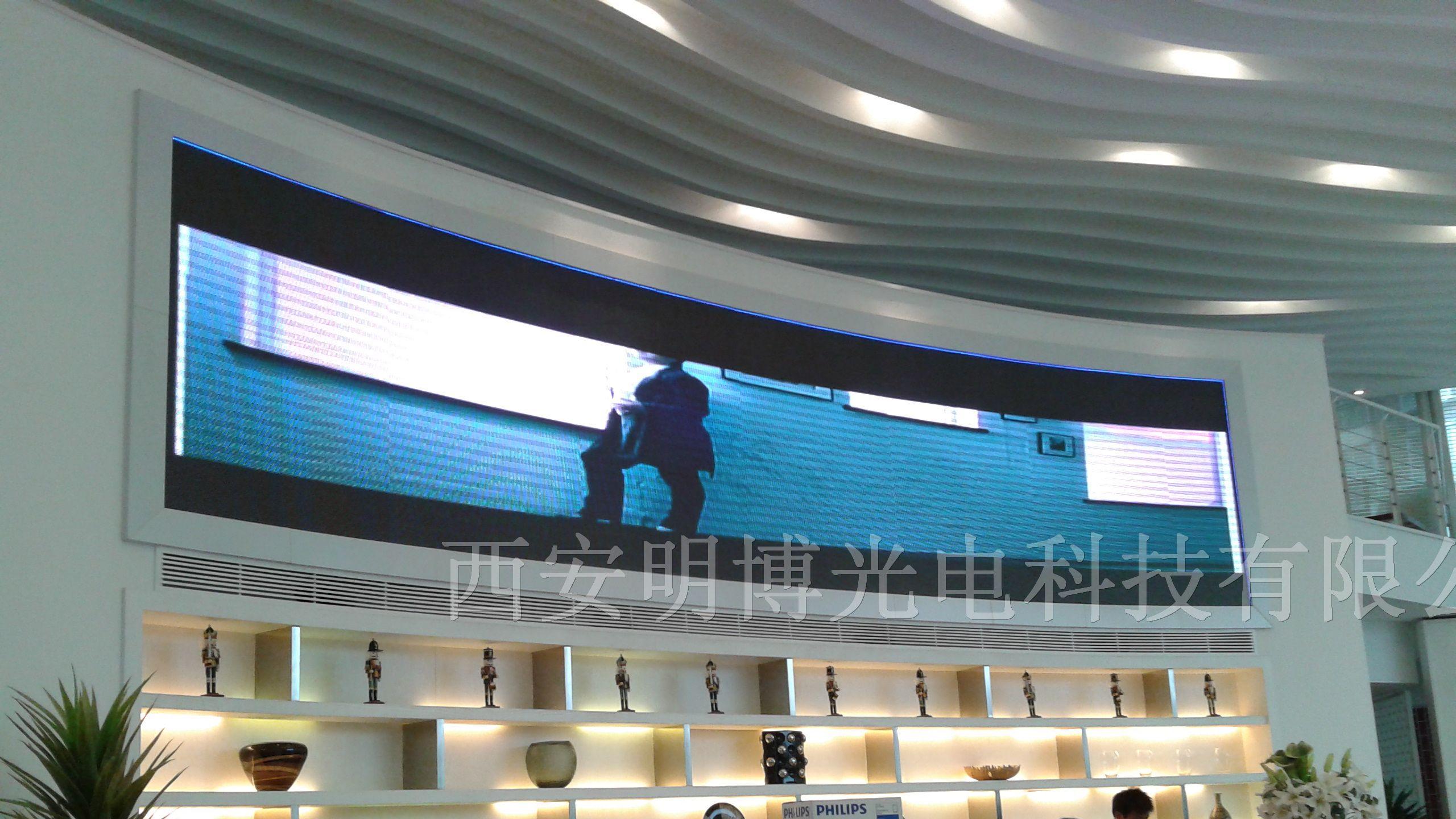 陕西浩博基业电子科技有限公司是一家集LED电子显示屏、照明系列产品的研发、生产、销售以及城市亮化工程设计、施工、维护于一体的综合生产厂商。 总公司成立于2005年,本着倡导质量第一、服务第一、诚信第一的理念,不断专研创新,全力打造国际LED市场第一品牌形象。 五年钻研,不懈努力,浩博基业以制定行业标准为己任,以打造中国人自己的品牌为目标,努力拼搏,不断进取,不但积累了丰富的研发经验,并先后取得了行业内多种认证,为浩博基业在行业内的地位取得了突破性的发展,公司不仅拥有一流自动化生产设备、标准10万级洁净生