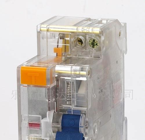 操作方式:储能操作     适用范围 dz30le-32漏电断路器结构