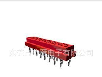 LDZY专业生产AMP/TYCO 21546090度母座板端连接器