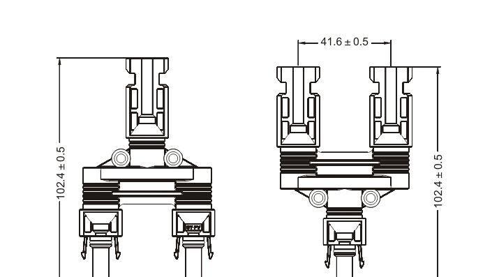 MC4太阳能光伏连接器SY-BM21-A/C