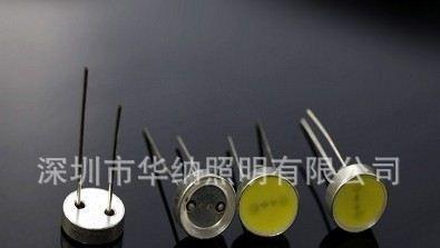 led车灯光源专灯光源生产厂 t12mm铜头大功率直插灯插1.5w高清图片