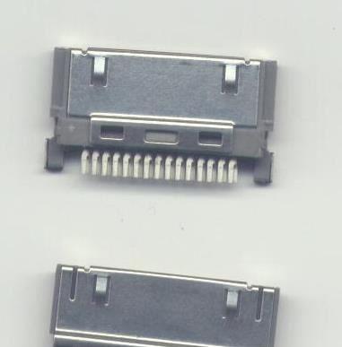 供应插座 usb连接器插座 micro5p插座