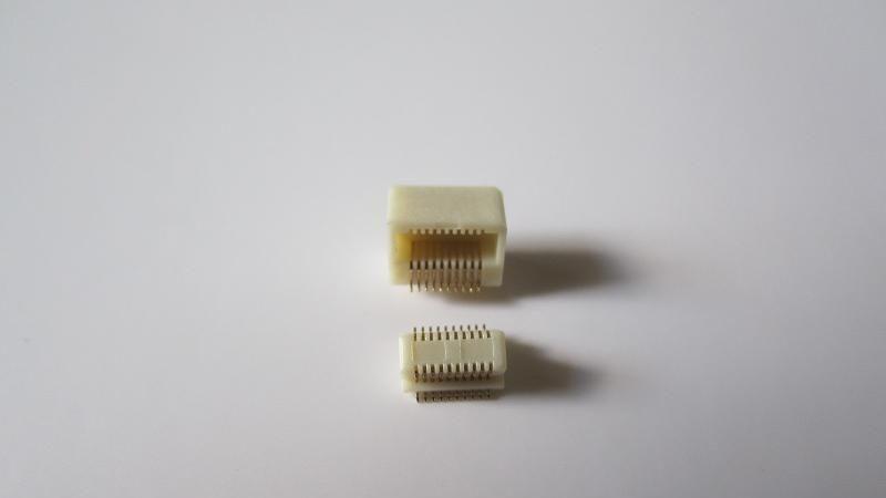 供应单槽直插侧插板对板连接器90度180度板对板连接器