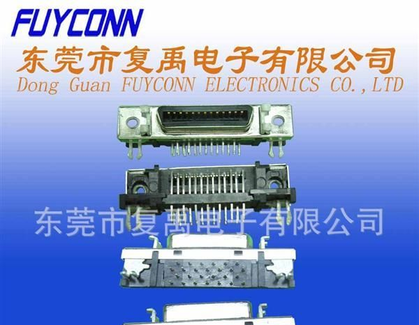 供应SCSI-90度26母板端连接器