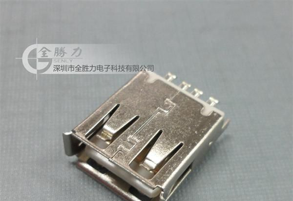 USB AF焊线母座 usb连接器母座 A款 B款