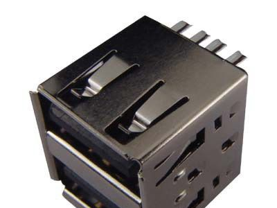 厂商直销 双层usb连接器