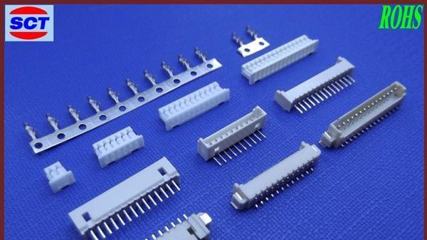 厂家供应MX1.25  WF插件 PCB板端连接器