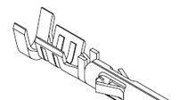 tyco/amp连接器 3-1447221-3  S-SEAL SKT 18-16 BECU/AU供