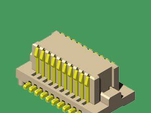 供应90度侧插板对板连接器,大小P数接插件连接器