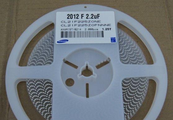 供应贴片陶瓷电容器CL21F225ZOFNNNE