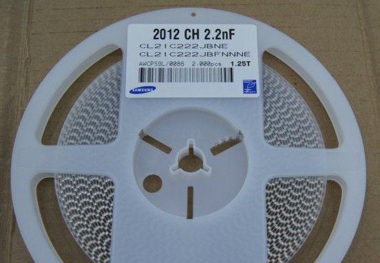 供应贴片陶瓷电容器CL21C222JBFNNNE