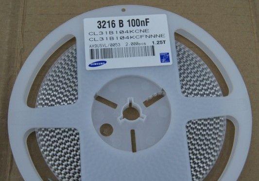 供应贴片陶瓷电容器CL31B104KCFNNNE