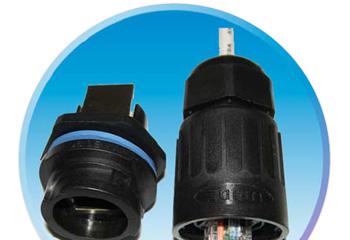 供应水晶头防水连接器