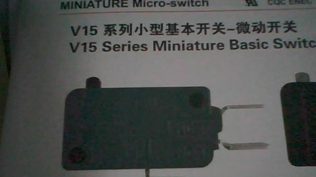 供应霍尼韦尔微动开关V7-V9系列