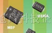 首创超溥矮脚扁平封装桥式整流器MB6F,MB8F