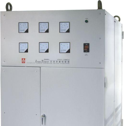 供应铁塔牌单相高抗干扰交流参数稳压器cwy-120kva