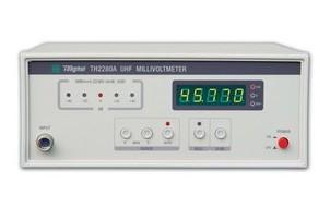 常州同惠超高頻毫伏表TH2280A最新報價