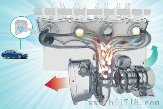 从而减轻发动机自重和降低油耗