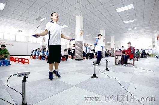 武漢體育中考引入智能儀器,評分更客觀公正