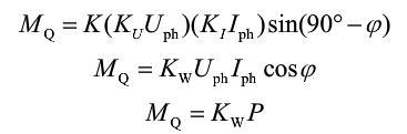 感应式电能表的工作原理