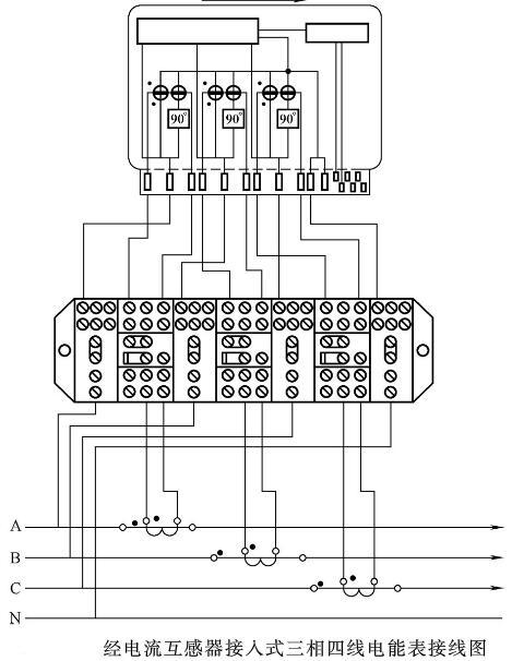 三相四线有功电能表的接线原理及要求