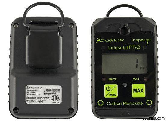 Molex 旗下 Sensorcon 公司推出一氧化碳检测仪产品线