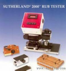 sutherl2000--四速油墨磨擦仪