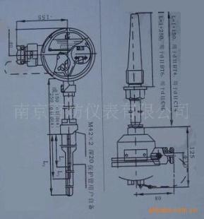 供应wzp2-231铠装双支热电阻