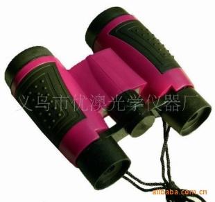 厂供应儿童玩具双筒6x30迷你高档望远镜促销礼品可印