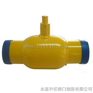 直埋式焊接球阀可以直接埋于地下,不用建高大型阀门井,只需在地面上图片