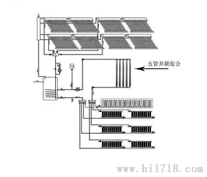 楼房地暖立体结构图