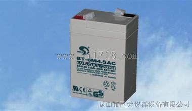 赛特BT-6M4.5AC电瓶,6V5.0AH/20HR蓄电池