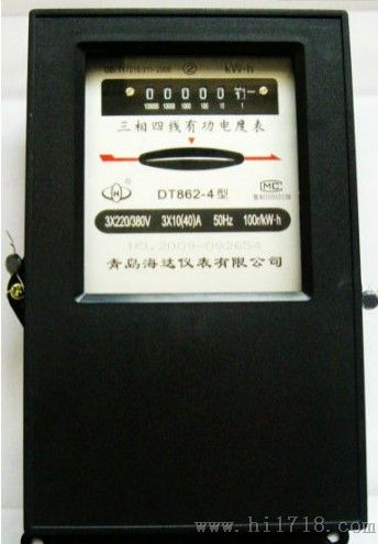 三相四线有功电度表和三相三线无功电度表混合接线图图片
