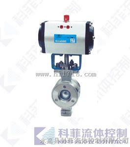 VQ647Y气动V型切断球阀生产厂家