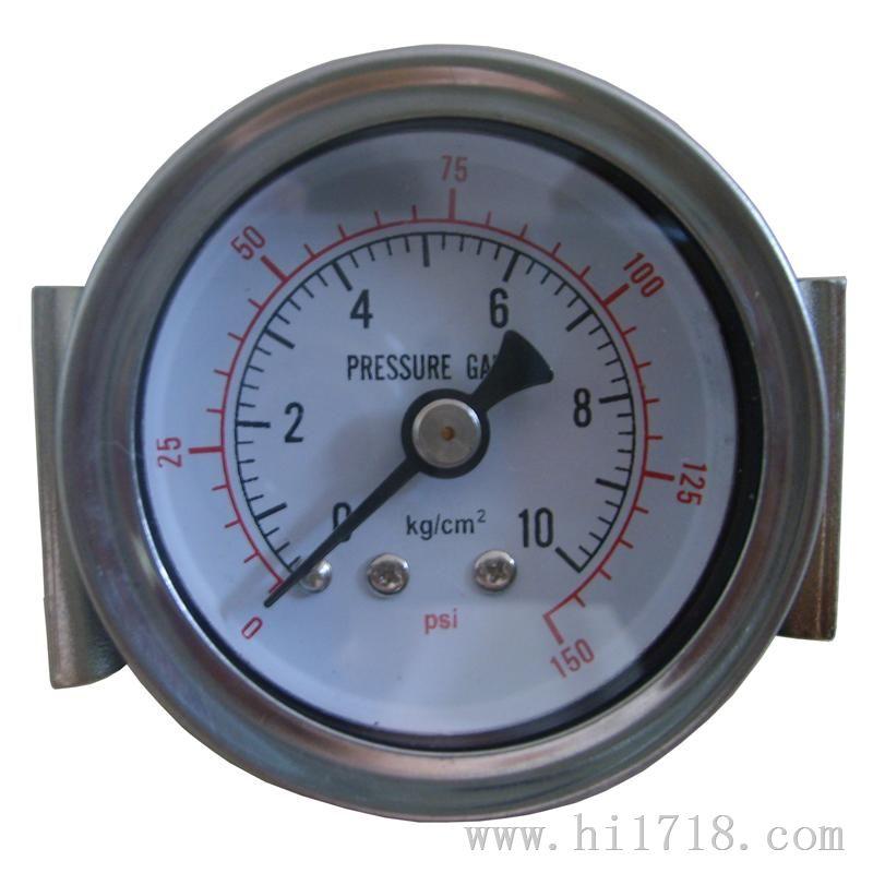 支架安装式气压表