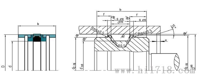 机械特性用在标准缸结构中,特别用于恶劣工作条件下的工程机械液压缸