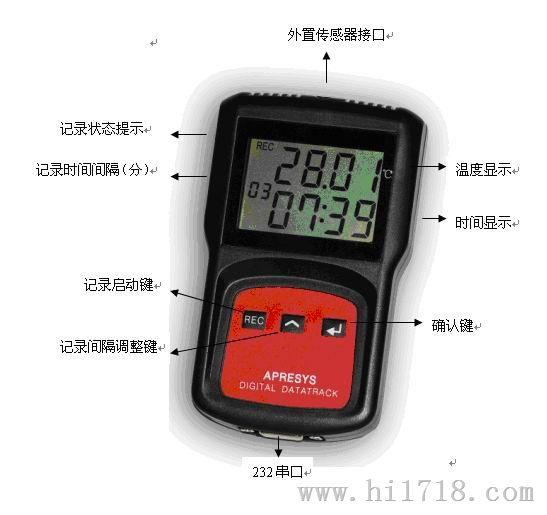 美国Apresys仓储运输专用智能温度记录仪179B-T1