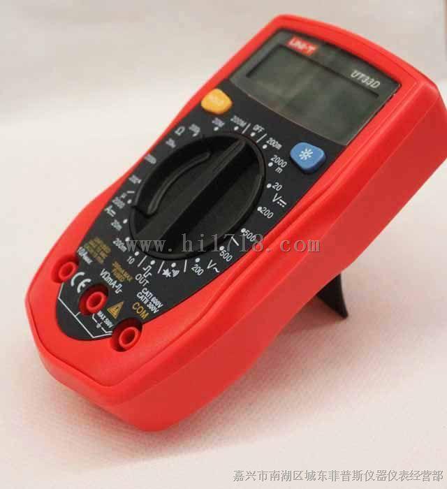 数显万用表   测量电压范围