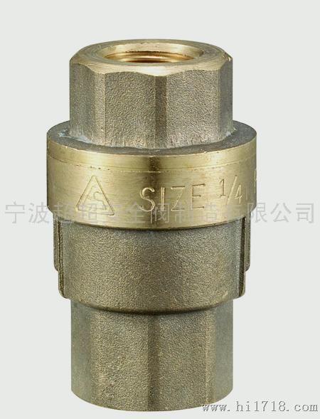 空压机用黄铜dt1/4.ii回油单向阀图片