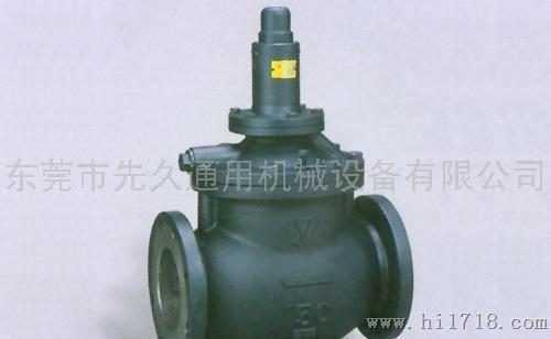 日本进口铸铁法兰蒸汽减压阀图片