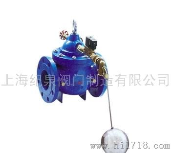 上海纪泉阀门106X图纸设计浮球阀电气cad遥控电磁图片