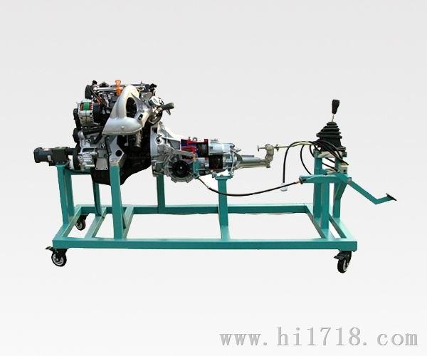 桑塔纳发动机变速器解剖模型