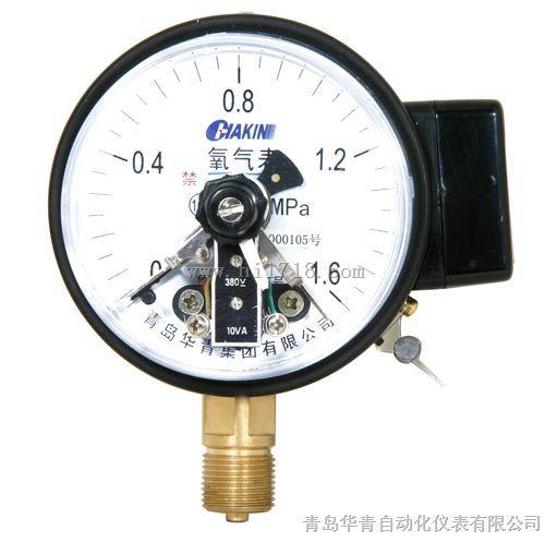 华青厂家直销电接点压力表-青岛华青自动化仪表有限
