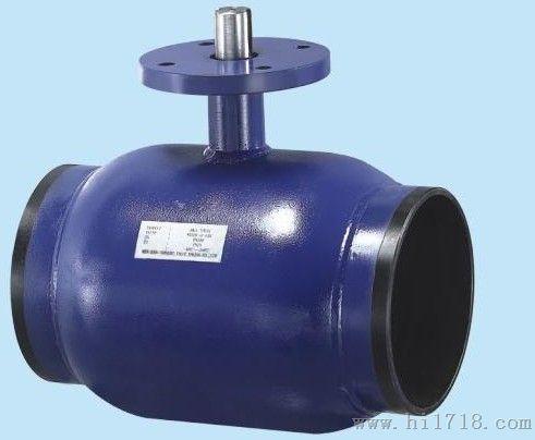 进口钢制全焊接球阀图片