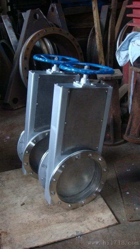 调节插板阀 通风除尘设备 固体粉料输送调节流量和图片
