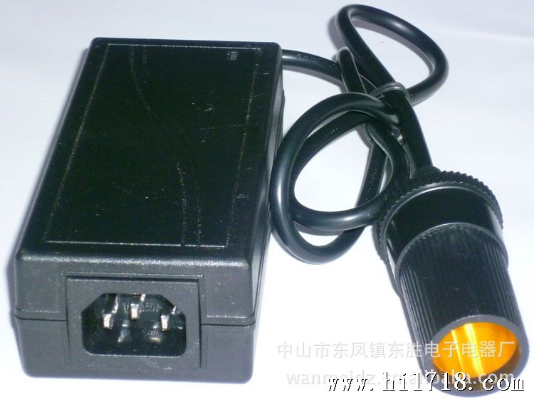 开关丨电源适配器220v转12v 72w汽车点烟器 逆变器