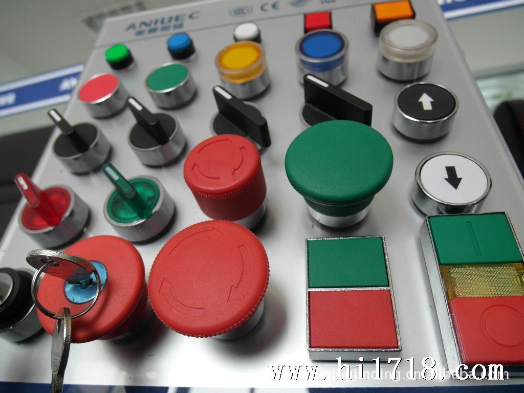 供应金属按钮钥匙开关la158-2bg21钥匙选择开关旋钮
