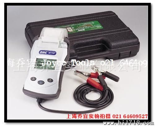 台湾dhc品牌原装汽车蓄电池检测仪bt747带打印哦/蓄电池鉴定专家
